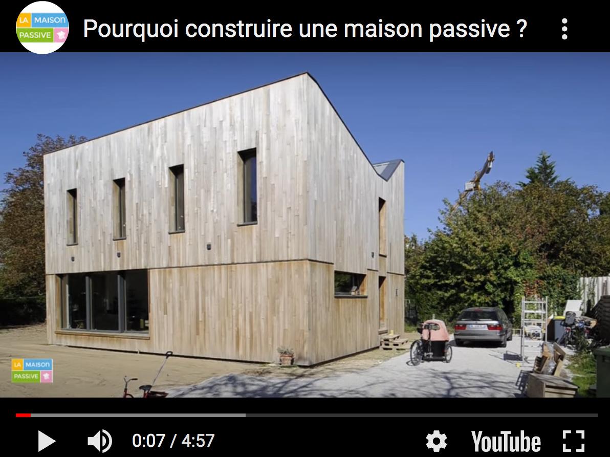 Pourquoi construire une maison passive?